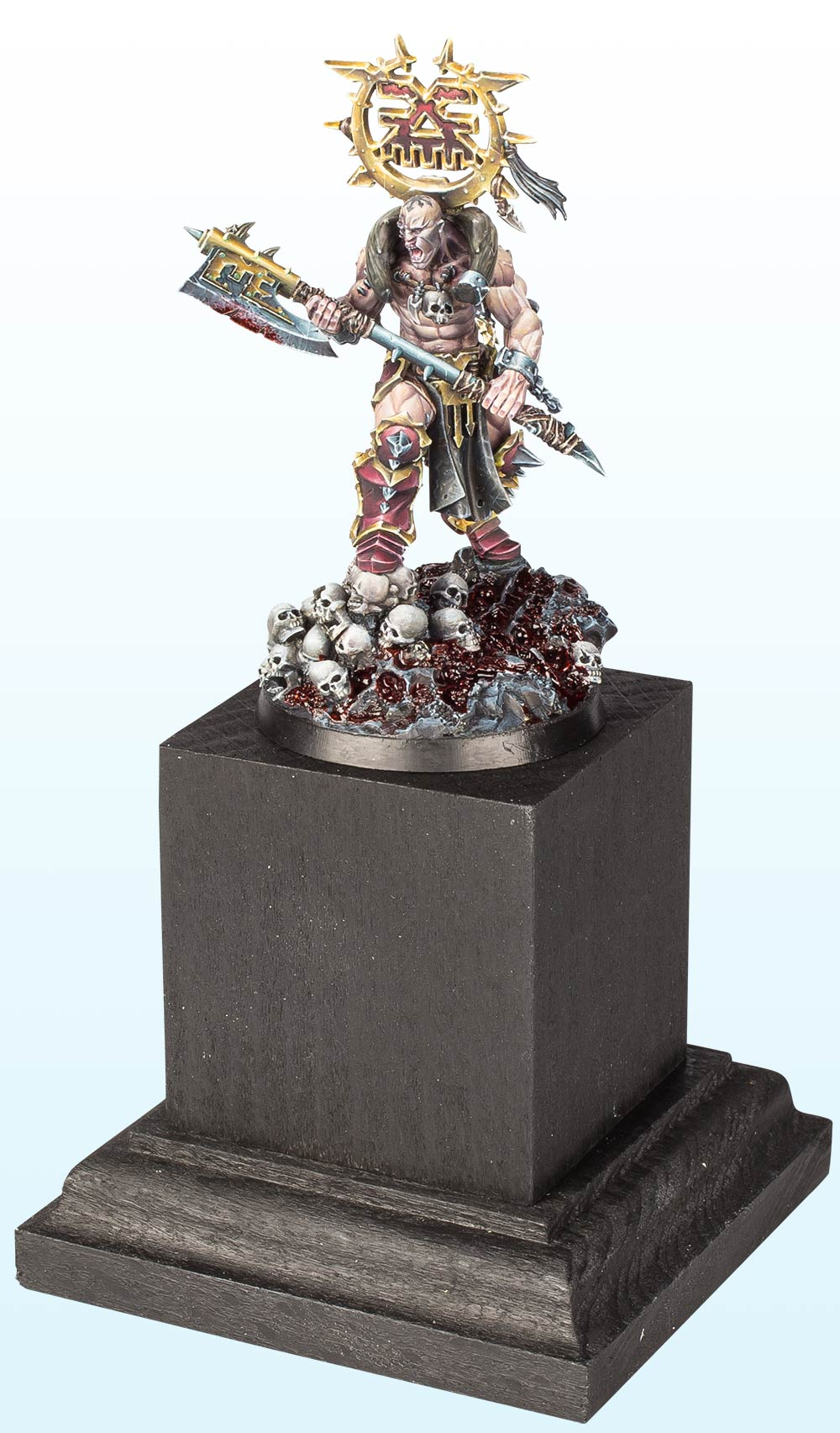 Warhammer Age of Sigmar Single Miniature : Bronze – 2016