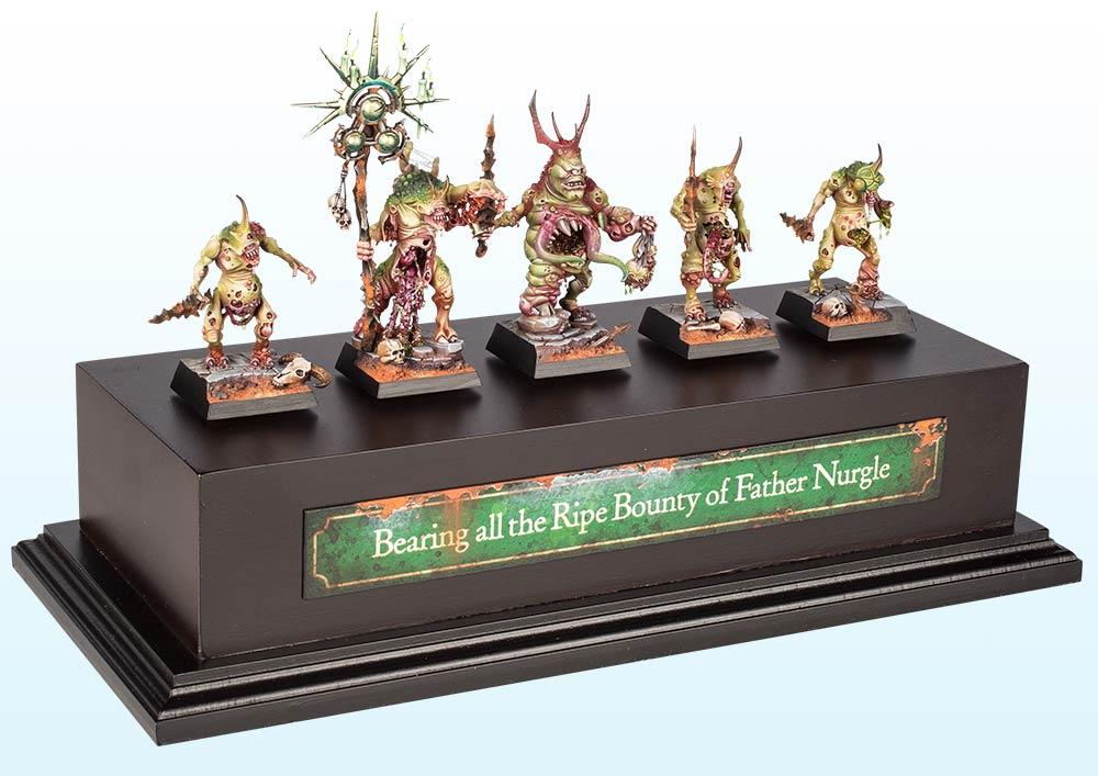 Warhammer Age of Sigmar Regiment : Gold – 2016