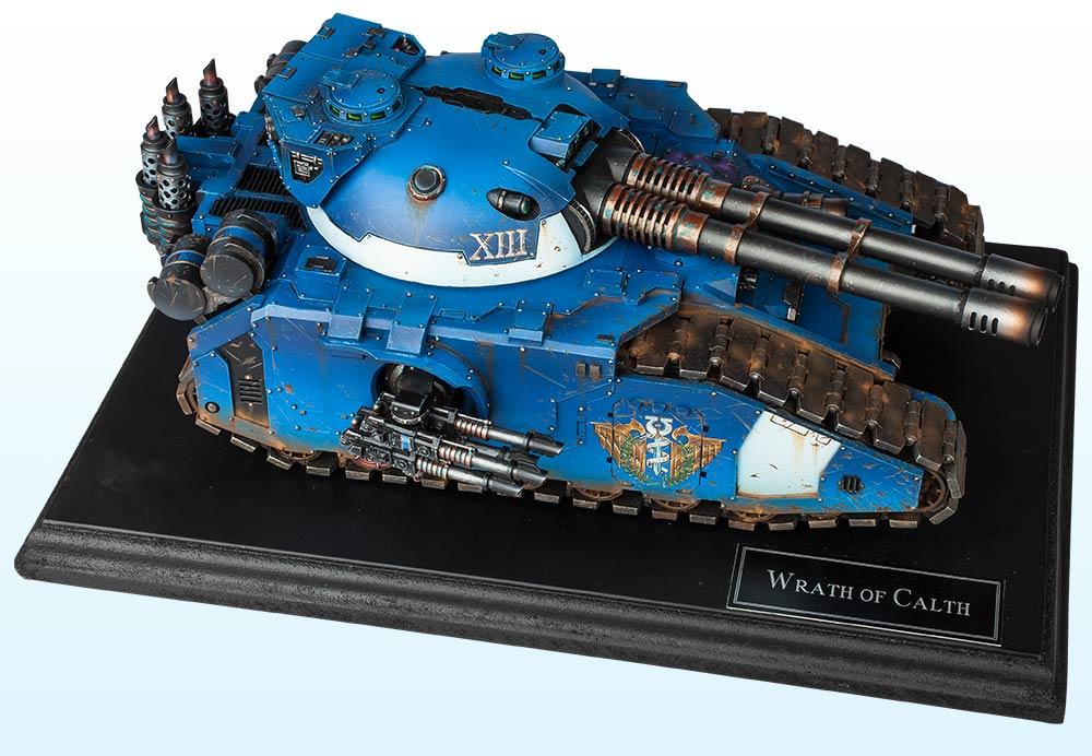 Vehicle: Gold & Slayer Sword – The Horus Heresy 2016