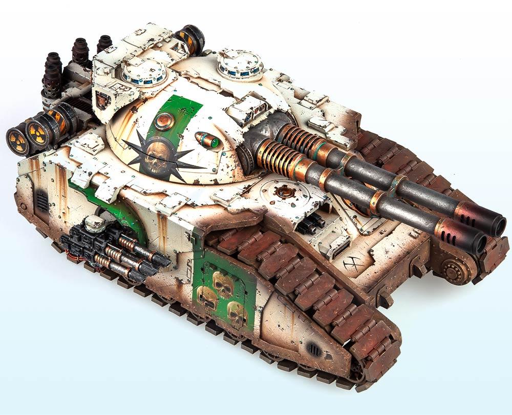 Single Tank: Gold & Slayer Sword Winner – Warhammer 40,000 Tanks 2015