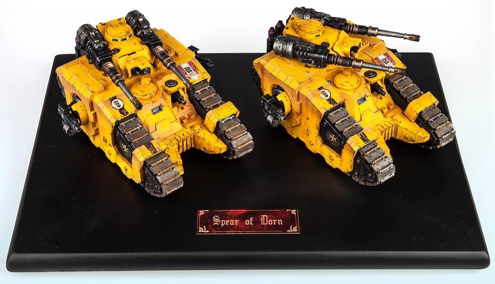 Tank Squadron: Bronze – Warhammer 40,000 Tanks 2015