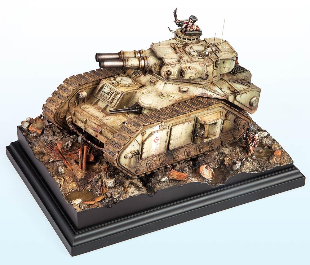 Unbound: Bronze – Warhammer 40,000 Tanks 2015