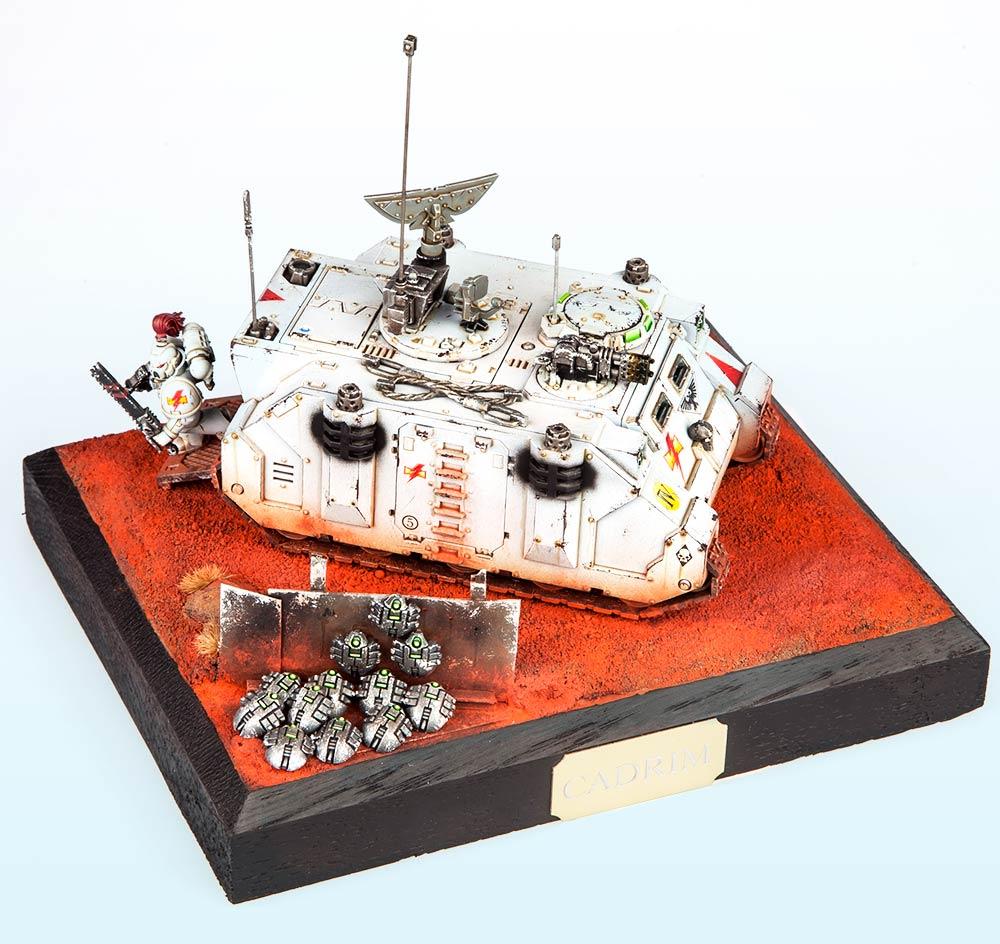Unbound: Silver – Warhammer 40,000 Tanks 2015